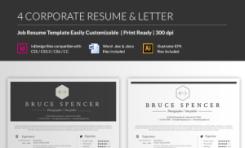 Original resume template