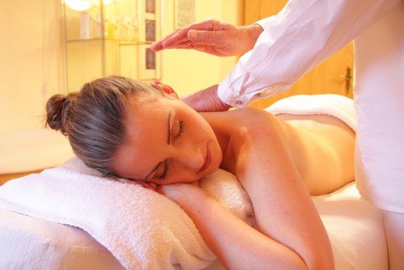 Giving massage