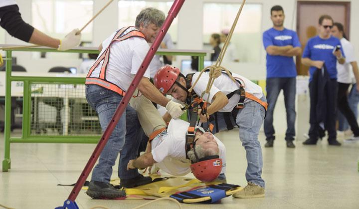 Men doing rescue