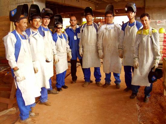 Senai students